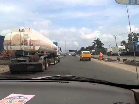 Driving Through Lagos 2012