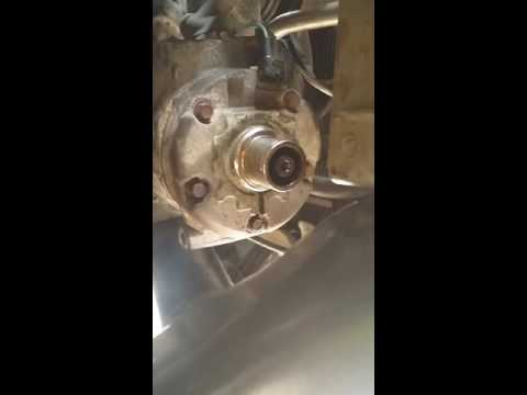 2005 honda odyssey ac compressor coil, pulley and clutch replace  2