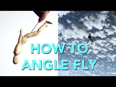 How to Angle Fly (I'm Learning)   Skydiving Vlog 061
