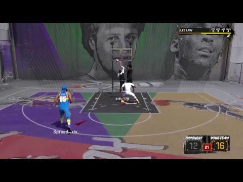 NBA 2k18 Grind Me Boobie and trey 3deep