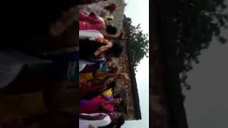 Banjara girls dancing in Ganesh Festival at chandapur