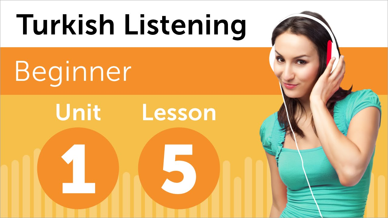 Turkish Listening Practice - Discussing a New Design in Turkish