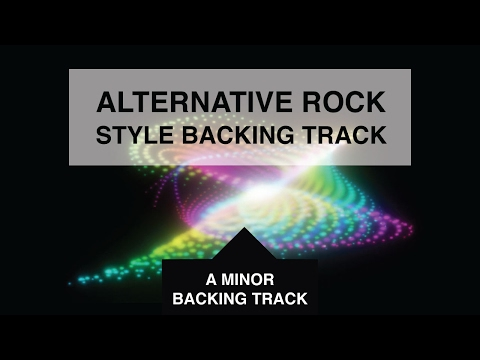 Am Backing Track - Alternative Rock in A Minor