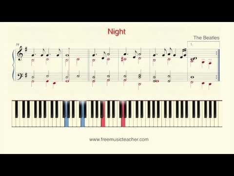 "How To Play Piano: The Beatles ""Good Night"" Piano Tutorial by Ramin Yousefi"