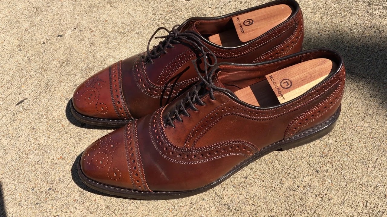 ae brown shell cordovan strands 3 5 years old youtube