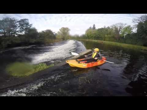 Kayaking on the river Nore [ Borris Co. Carlow]