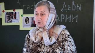 Открытый урок в воскресной школе Курганская епархия