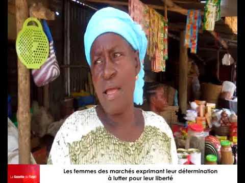 Des femmes des marchés de la capitale, Lomé, décrient le régime qui régente le Togo