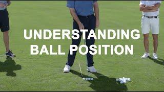 Ball Position Lesson with Nick Faldo