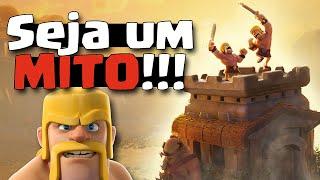 Seja um MITO nas guerras!! - GUERRAS ÉPICAS #1 - Clash of Clans