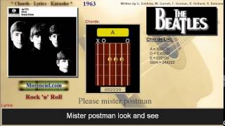 The Beatles - Please mister postman #0153