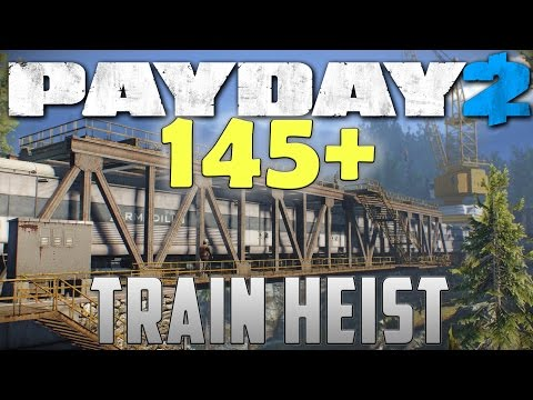 Ghost 145+ mod - TRAIN HEIST - Payday 2 (Murky - Solo stealth DW)