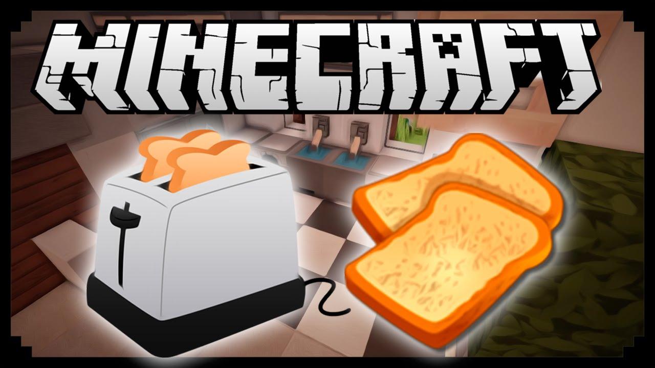 Как сделать в майнкрафте тостер