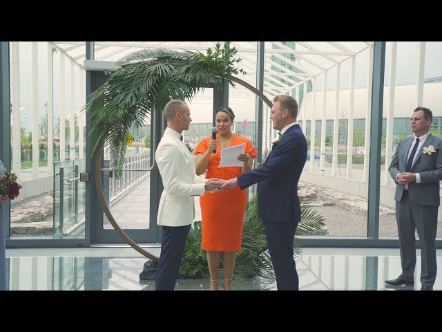 Myron + Mike | 2019 Toronto Wedding Video from Hotel X