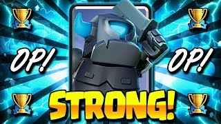 NEW MINI PEKKA BEATDOWN DECK IS STRONG!! HIGH POWER COMBO!!