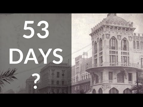 """Fake History of Spain: Hotel Built in 53 DAYS With No Foundation """"Colonial Style"""""""
