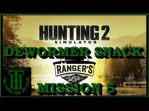 Mission 5: Dewormer Snack - Rangers Life DLC ;Hunting Simulator 2 [PC] |