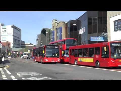 BROMLEY BUSES APRIL 2017
