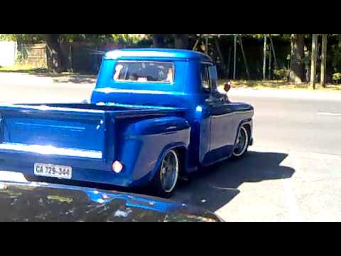 1958 Chev Apache Hot Rod Spinning Just A Touch Youtube