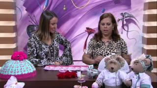 Cobre bolo em tecido e feltro – Jully Malzoni PT1