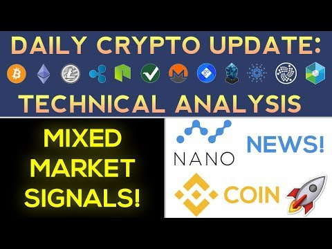 Binance Coin SOARS On GREAT News! ICON Surge, Mixed Crypto Signs