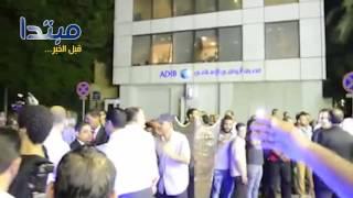 فيديو| محلب يشارك الأهلى الأحزان