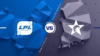 CN vs. KR   Semifinals Game 1   2017 All-Star Event   China vs. Korea