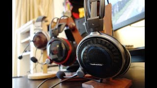 Audio-Technica ATH-ADG1X & AG1X review - Audiophile-grade gaming headsets - By TotallydubbedHD