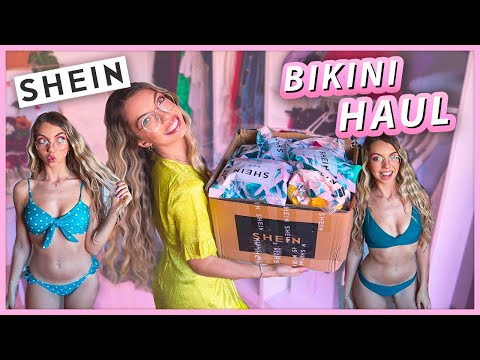 MEGA TRY ON HAUL BIKINI SHEIN!! 👙 | Carolina Chiari