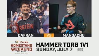 Mangachu Vs Dafran Torbjörn 1v1 : Overwatch League