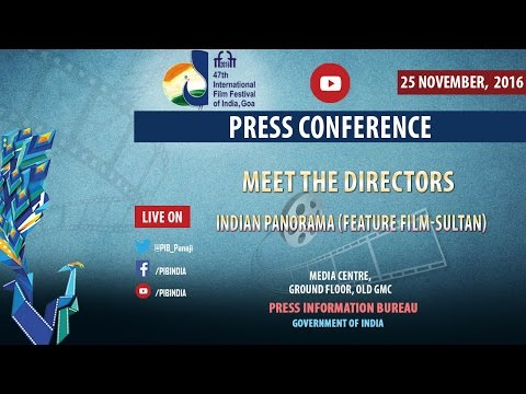 IFFI 2016: Press Conference by Ali Abbas Zafar, Director of