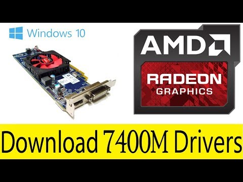 How To Download AMD Radeon 7400M Graphic Driver For Laptop & PC