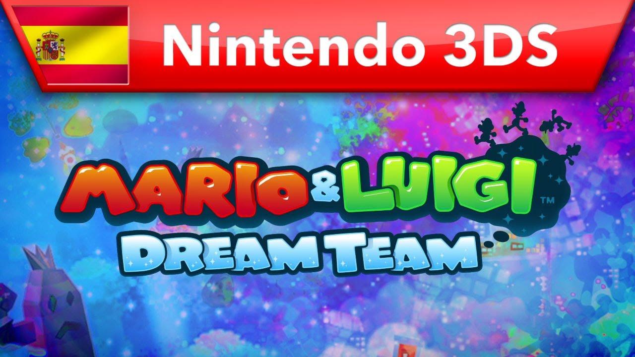 Mario Luigi Dream Team Bros Trailer Nintendo 3ds Youtube
