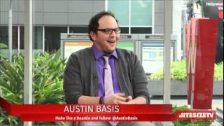 Austin Basis chats Beauty and the Beast Season 3&spending time with family and friends