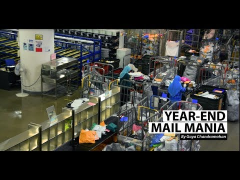 You've got holiday mail: SingPost brings in extra hands for year-end crunch