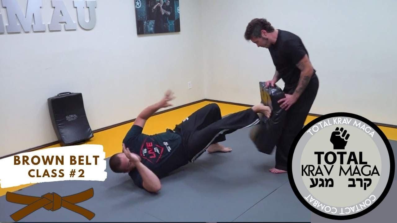 Krav Maga - Brown Belt - Class #2