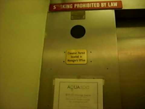 Elevator at the Aqua Continental Hotel