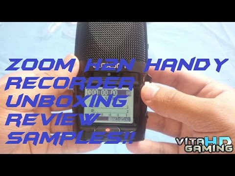Zoom H2N Handy Recorder Unboxing, FULL Review with lots of samples!!