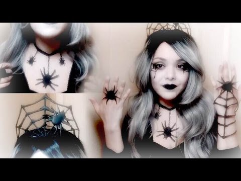 5 Easy DIY Halloween  Costume Jewelry (Queen of Spiders Theme)