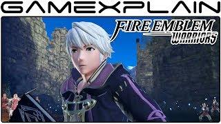 Fire Emblem Warriors - Robin, Lucina, & Lissa Gameplay (Direct Feed)