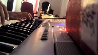 Chand chupa badal mein piano