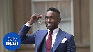 King Kenny and Jermain Defoe receive honours at Buckingham Palace