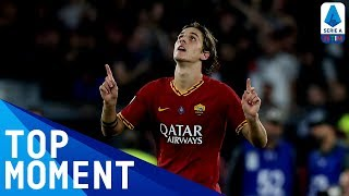 Zaniolo Fires Roma to Victory Against Milan | Roma 2-1 Milan | Top Moment | Serie A
