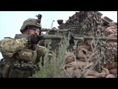 Marine Corps Scout Snipers & U S  Army Snipers • In Action