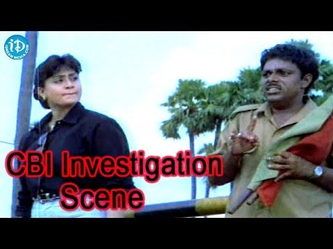 Police Lockup Movie - Vijayashanti Police Interrogation Scene