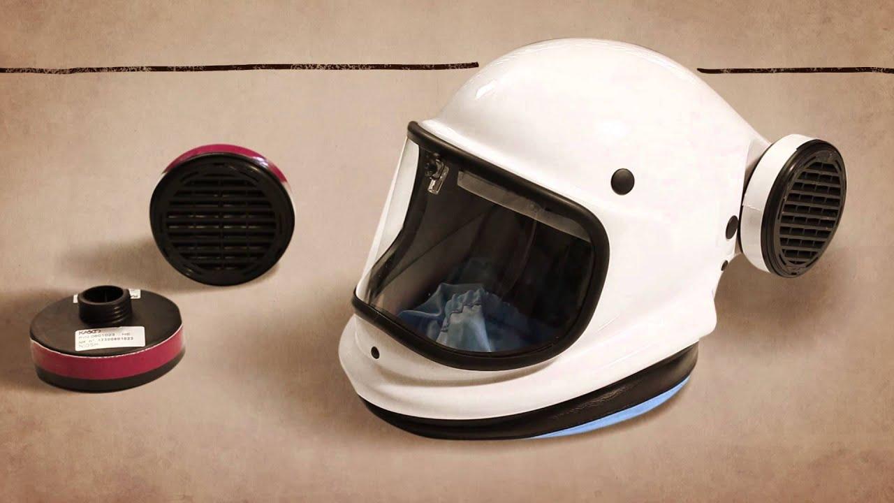 Kompat88 Respirator With Helmet Youtube