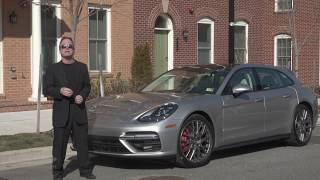 2018 Porsche Panamera Sport Turismo Test Drive & Review