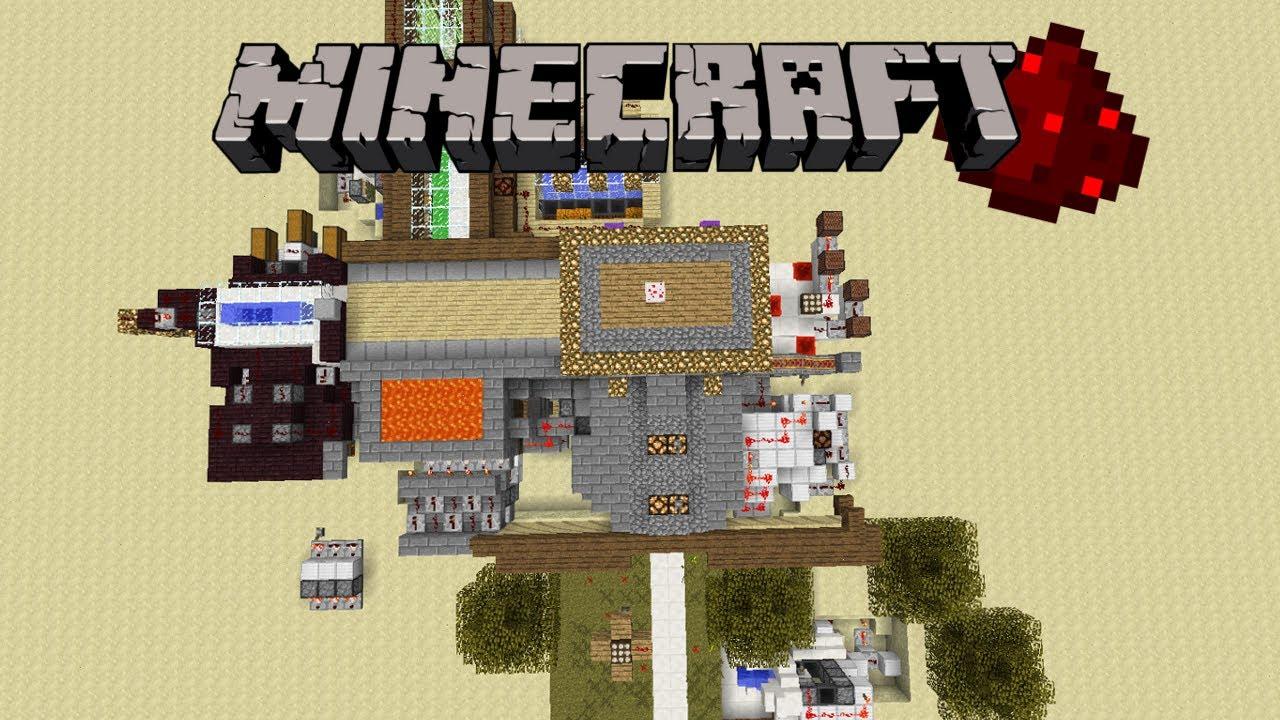 Maison Haute Technologie Simple Et Facile Minecraft Invention 1 5