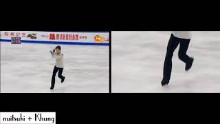 Toe step in figure skating