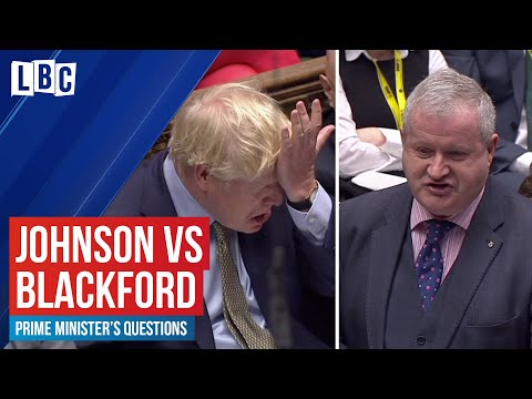 Boris Johnson v Ian Blackford on the Scottish Referendum | House of Commons